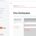 mocacinno.com estimating an appropriate fee for your transaction